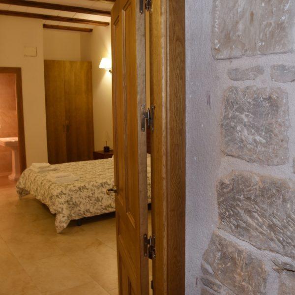 Acceso Dormitorio Cama Matrimonio